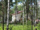 Строящийся коттеджный поселок «Серебряный лес»