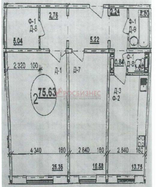 Продается однокомнатная квартира за 1 130 000 рублей. Новосибирск, Кировский район, Бронная, 40/4.