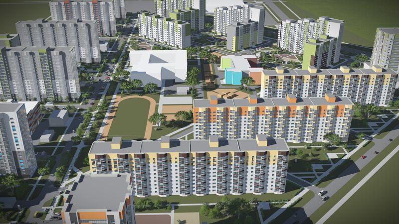Продается трехкомнатная квартира за 2 500 000 рублей. Барнаул, Индустриальный район, Северный Власихинский проезд, 110.