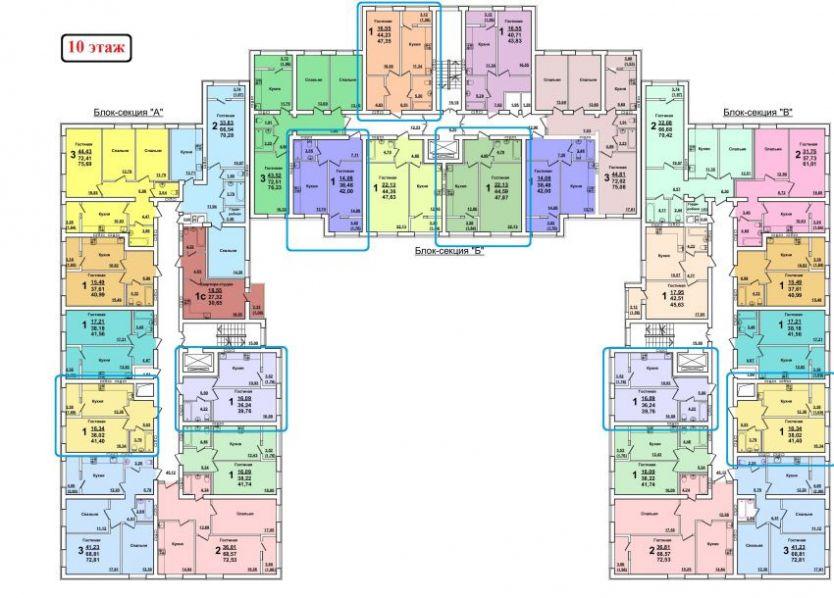 Продается однокомнатная квартира за 1 390 000 рублей. г Саратов, ул Танкистов, д 80А.