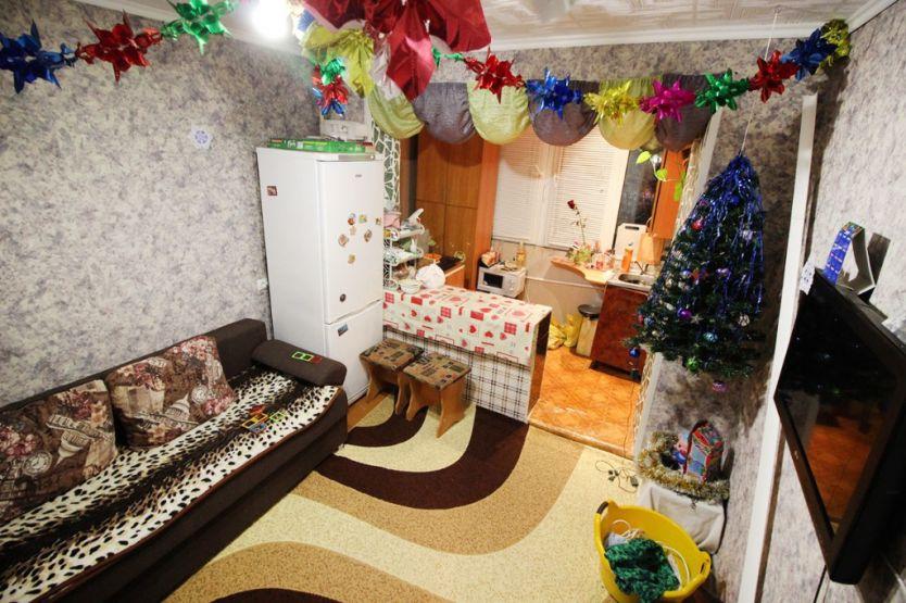Продается двухкомнатная квартира за 1 666 000 рублей. Барнаул, Индустриальный район, Антона Петрова, 233.