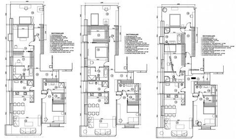 Продается трехкомнатная квартира за 99 000 000 рублей. Москва, Минская, 2 корп. а.
