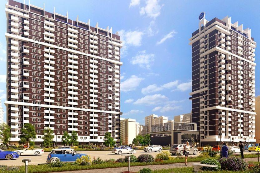 Продается двухкомнатная квартира за 2 470 000 рублей. Краснодар, Карасунский, Бородинская, 152.