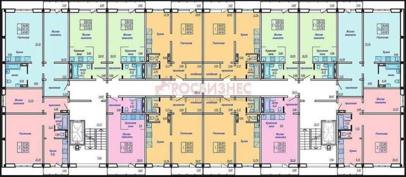 Продается однокомнатная квартира за 1 900 000 рублей. Новосибирск, Октябрьский район, Виталия Потылицына, 7.