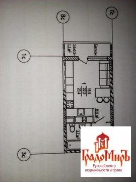 Продается однокомнатная квартира за 2 100 000 рублей. Московская область, Кубинка,  район, Кубинка-2 станция, 9.
