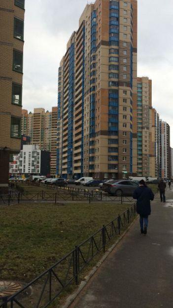 Продается однокомнатная квартира за 3 500 000 рублей. Кудрово, Европейский проспект, 14 корп. 4.