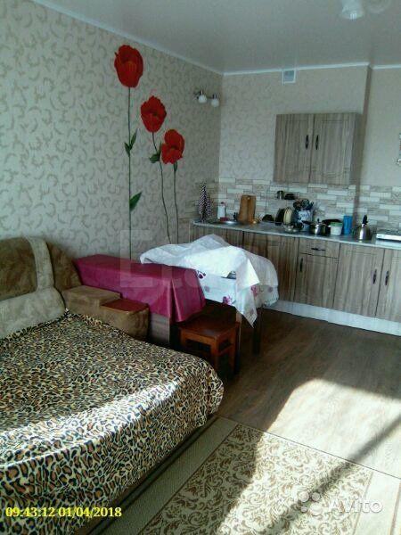 Продается однокомнатная квартира за 1 800 000 рублей. Барнаул, Индустриальный район, Сергея Ускова, 42.