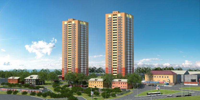 Продается однокомнатная квартира за 1 900 000 рублей. Красноярск, Железнодорожный район, Калинина, 41.