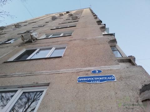 Продается однокомнатная квартира за 2 800 000 рублей. Московская обл, г Раменское, ул Приборостроителей, д 3.