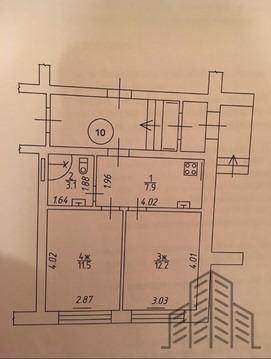 Продается двухкомнатная квартира за 1 800 000 рублей. Калининград, Советский проспект, 202.
