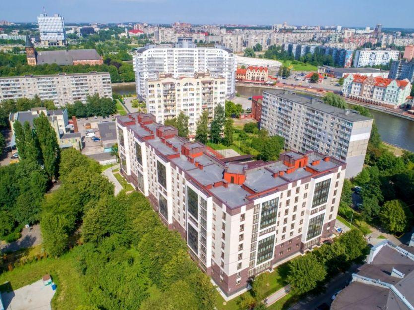 Продается однокомнатная квартира за 4 350 000 рублей. Калининград, Ленинградский район, Малый переулок, 3.