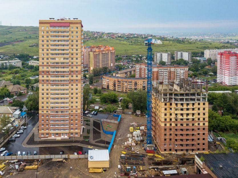 Продается двухкомнатная квартира за 2 570 000 рублей. Красноярск, Железнодорожный район, Калинина, 41/2.