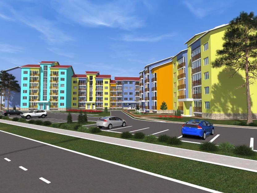 Продается однокомнатная квартира за 1 352 000 рублей. Краснодар, Карасунский, Выездная, 50.