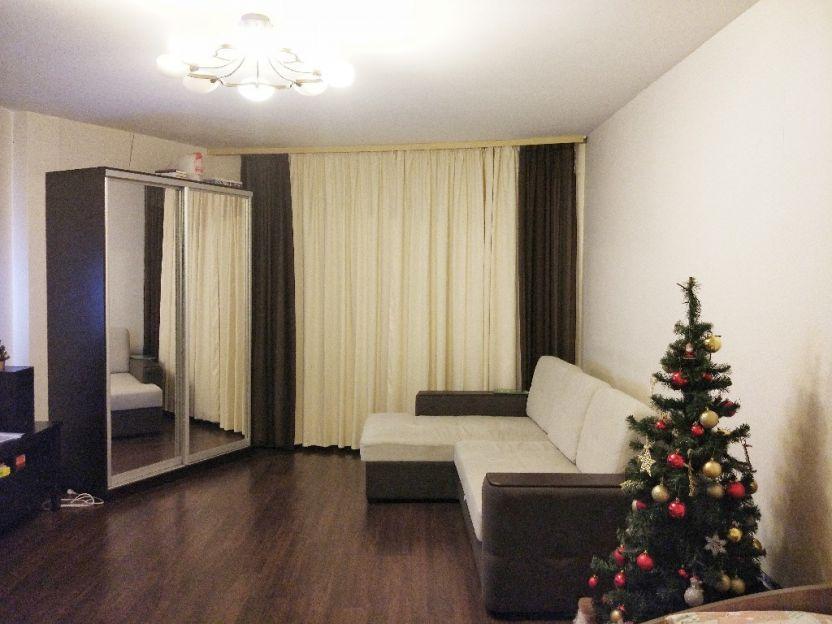 Продается однокомнатная квартира за 3 399 000 рублей. Екатеринбург, Ленинский район, Краснолесья, 24.