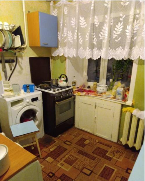 Продается двухкомнатная квартира за 3 000 000 рублей. Нижний Новгород, Канавинский район, Московское шоссе, 35.