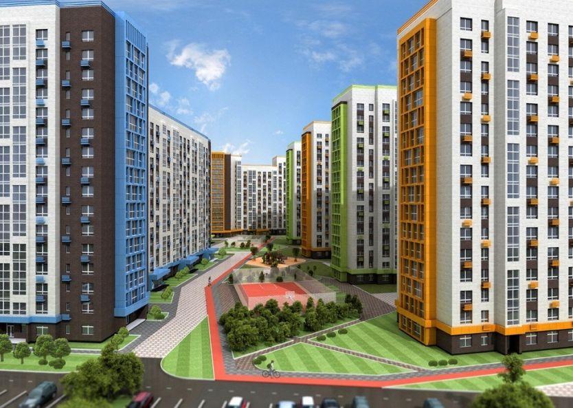 Продается двухкомнатная квартира за 3 692 000 рублей. Тюмень, Калининский район, Комбинатская, 105.