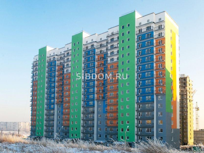 Продается однокомнатная квартира за 1 700 000 рублей. Красноярск, Советский район, Молодежный проспект, 19.