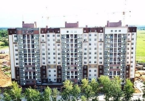 Продается однокомнатная квартира за 2 290 000 рублей. Калуга, Ленинский район, Фомушина, 31.