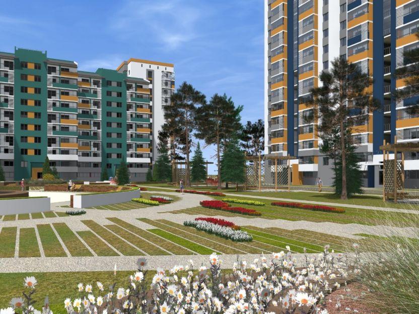 Продается двухкомнатная квартира за 2 350 000 рублей. Краснодар, Карасунский, Выездная, 50.