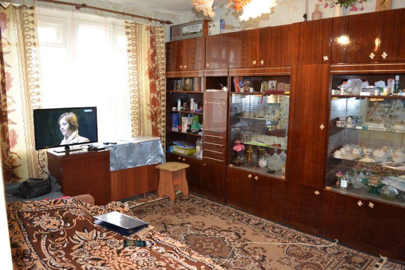Продается однокомнатная квартира за 1 550 000 рублей. Калуга, Ленинский район, Никитина, 93а.