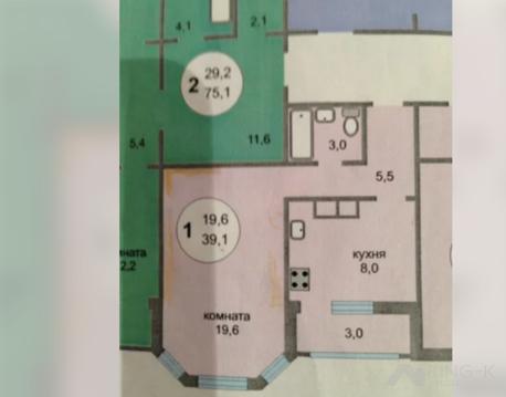 Продается однокомнатная квартира за 4 150 000 рублей. Королев, Мичурина, 27 корп. 3.