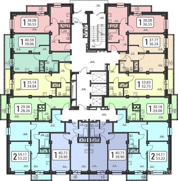 Продается двухкомнатная квартира за 3 300 000 рублей. Красноярск, Свердловский район, Судостроительная, 157.