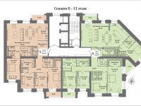 планы секция Б - 13 этаж