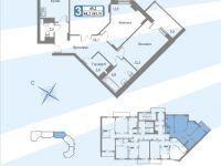 Планы квартир блок  3 секция. 3-16.1