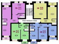 План типового этажа 3